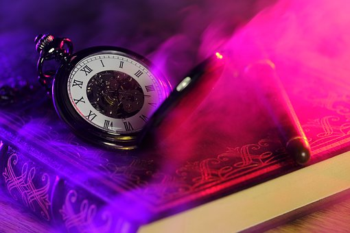 懐中時計と魔術書
