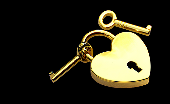 ハートにかけた鍵